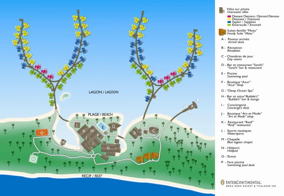 Mapas Vacaciones En Tahiti Polinesia Francesa Bora Bora